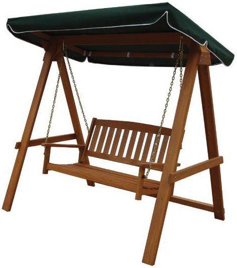 Hustawka Ogrodowa Drewniana Sklep Internetowy : Huśtawka ogrodowa drewniana  Villa Toscana  3470098604  oficjalne