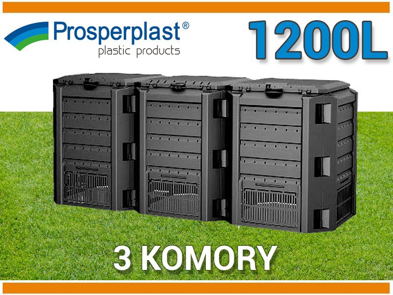 Compostiera compost compostaggio 1200lt da giardino in for Compostiera da giardino