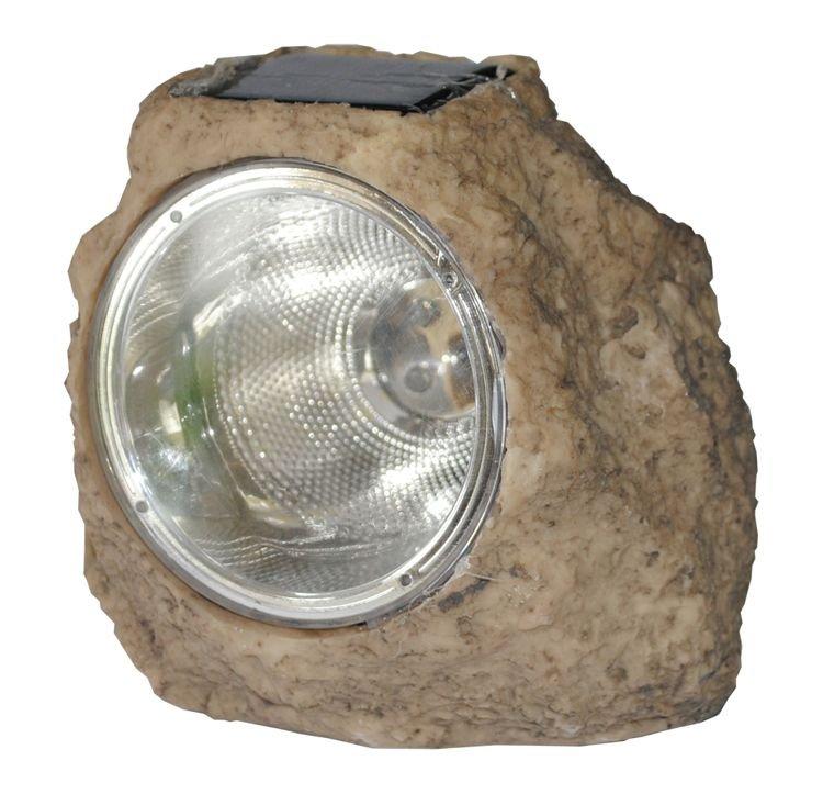 Lampa Solarna Ogrodowa Kamień 72033